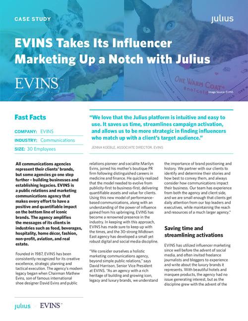 Julius_Case Study_EVINS